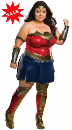 Plus Size Dawn of Justice Wonder Woman Costume