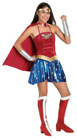 Teen Wonder Woman Costume