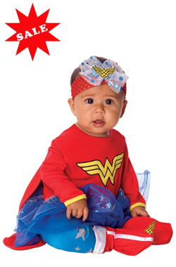 Baby Infant Wonder Woman Romper