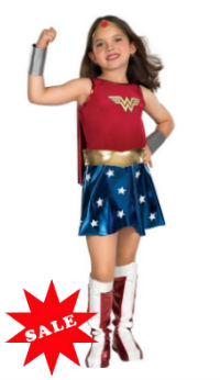 DC Comics Wonder Woman Child Costume