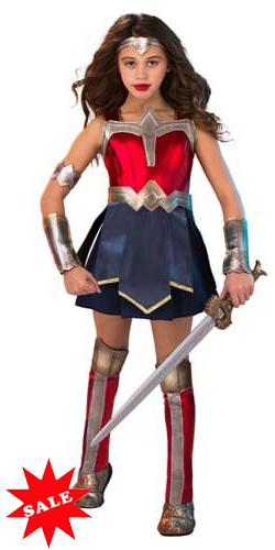 Kid's Wonder Woman 84 Costume for Girls