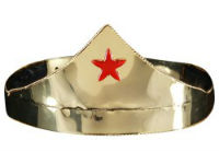 Wonder Woman's Gold Crown with Red Star