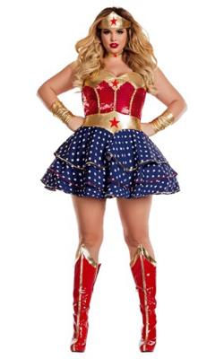 Wonderful Sweetheart Plus Size Costume for Women